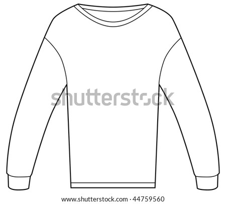 Thermal shirt isolated on a white background.