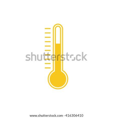 Thermometer Icon, Thermometer Icon Vector, Thermometer Icon JPG, Thermometer Icon JPEG, Thermometer Icon EPS, Thermometer Icon design - stock vector