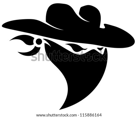Outlaw stock images royalty free images vectors for Cowboy silhouette tattoo