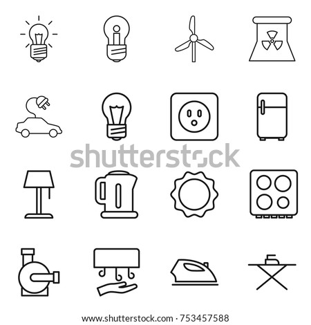 Electrician Service Icon Set Innovative Reliable 662101006 on wiring diagram for phone wall socket