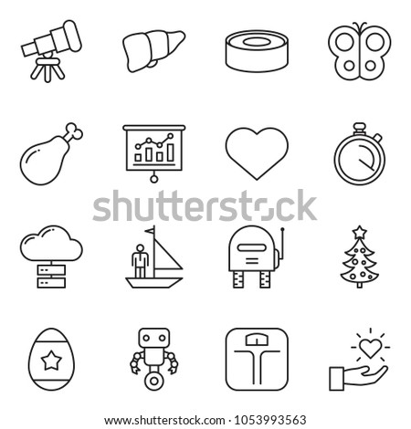 Thin line icon set manager yacht stock vector 1053993563 shutterstock thin line icon set manager yacht vector presentation cloud server ham negle Image collections