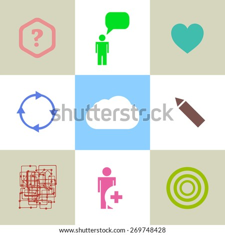 Thin line icons of global education form, online webinar, video tutorial, certificate of specialist, know how ideas develop. Modern flat line design element vector collection logo illustration concept - stock vector