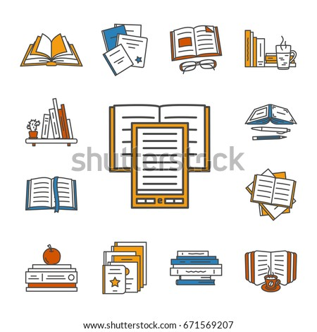 Open Book Outline Vector Stock Images, Royalty-Free Images ...