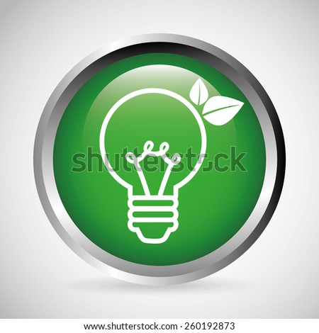 think green design, vector illustration eps10 graphic