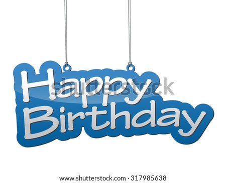 This is background happy birthday - stock vector