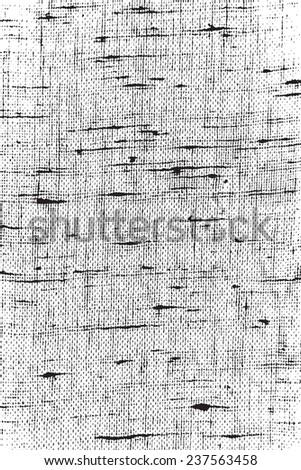 Thread overlay texture for your design. EPS10 vector. - stock vector