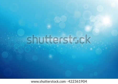 Three-dimensional abstract planet, dots, representing the global, international meaning, blue background. - stock vector