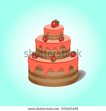 Three Floor Cake Images Stock Photos Vectors Shutterstock