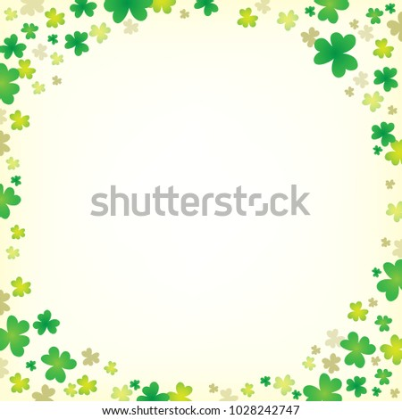Three leaf clover abstract background 5 - eps10 vector illustration.