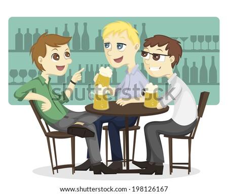 People Drinking Beer Stock Vectors, Images & Vector Art | Shutterstock