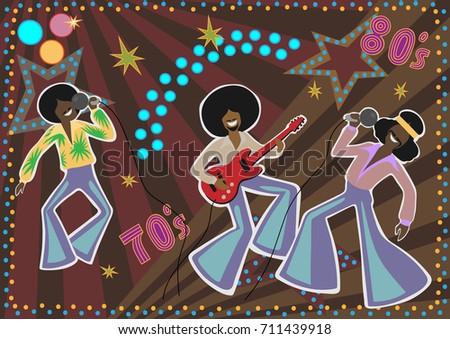 Disco Cartoons Stock Vector 92423878 Shutterstock