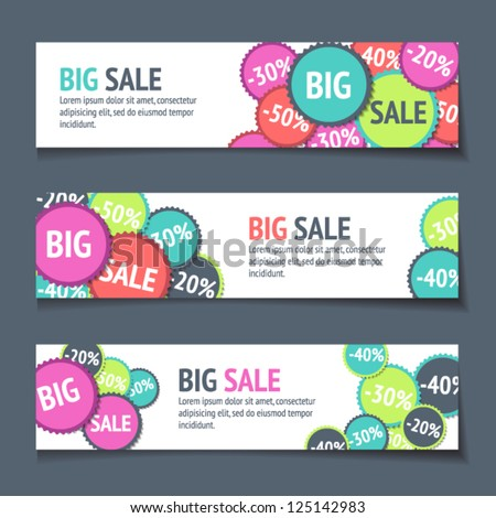 Web Sale Banners Stock Photos, Royalty-Free Images & Vectors ...