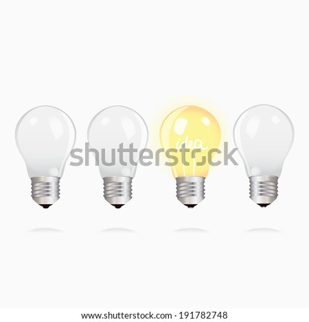 how to draw a light bulb upside down