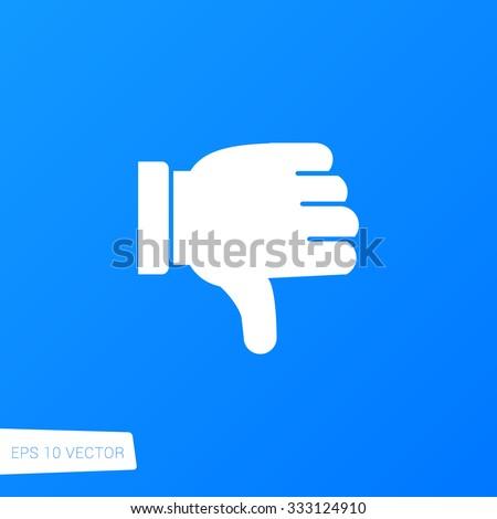 Thumb Down Icon / Thumb Down Icon Path / Thumb Down Icon Image / Thumb Down Icon Art / Thumb Down Icon UI / Thumb Down Icon JPG / Thumb Down Icon JPEG / Thumb Down Icon EPS / Thumb Down Icon AI - stock vector