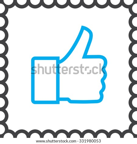 thumb up vector icon