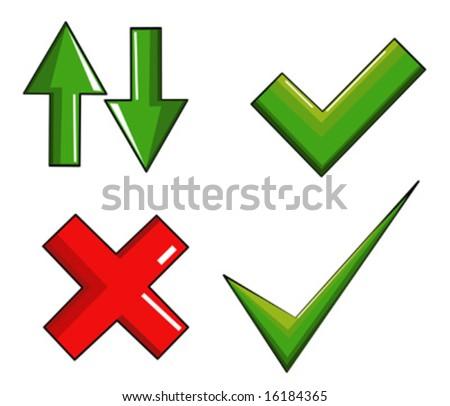 Ticket boxes vector - stock vector