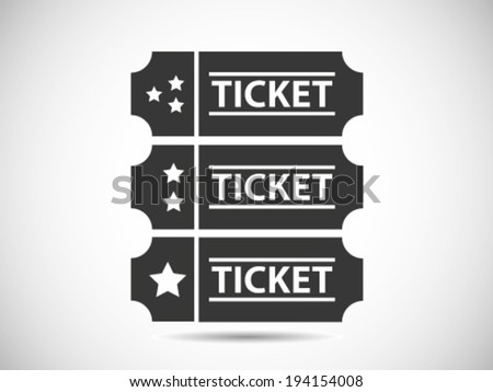 Ticket Class Level - stock vector