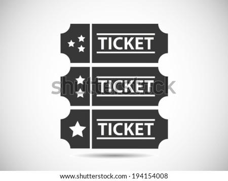 Ticket Class Level - stock vector