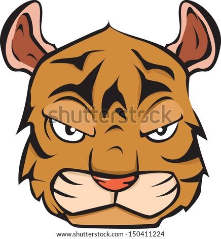 Tiger - stock vector