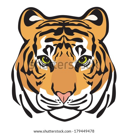 TIGER - stock vector