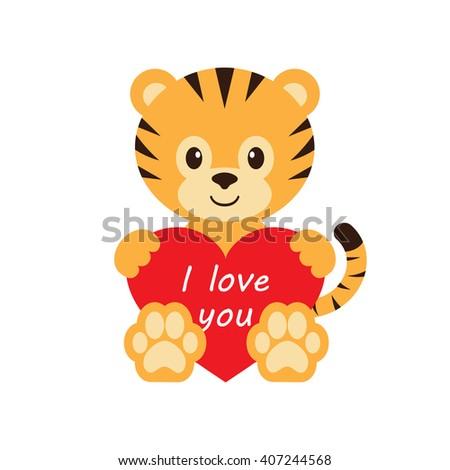 Tiger Heart Stock Photos, Royalty-Free Images & Vectors ...   450 x 470 jpeg 31kB