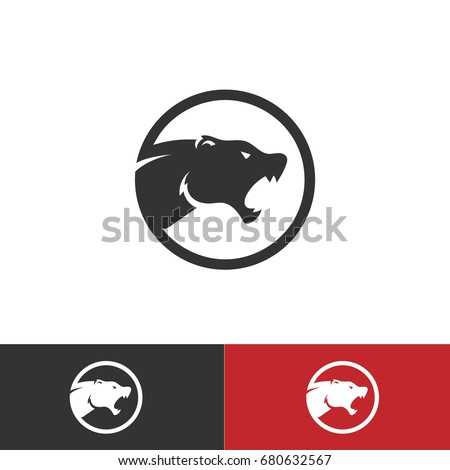 tiger cougar vector logo designed in editable vector format.