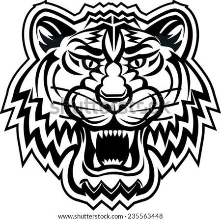taniwha monster maori styled tattoo design stock vector 94529806 shutterstock. Black Bedroom Furniture Sets. Home Design Ideas
