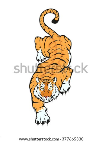 Tiger Tattoo Stock Images, Royalty-Free Images & Vectors ...