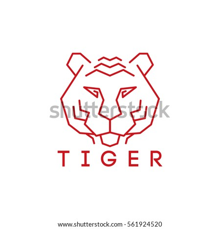 Tiger Head Vector Stock Images, Royalty-Free Images ...