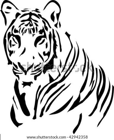 Tiger tato stock vector 42942358 shutterstock tiger tato thecheapjerseys Images