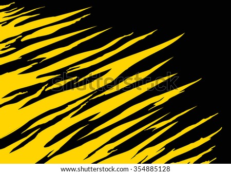 Tiger texture abstract background - stock vector