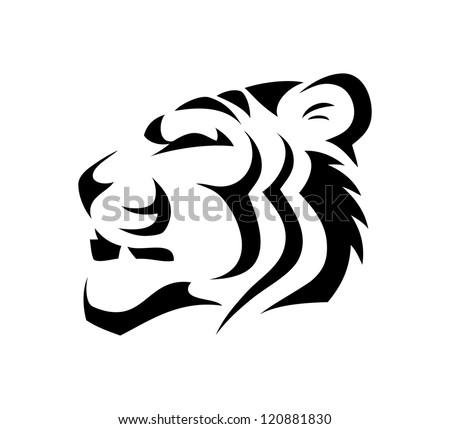 Tiger - vector illustration - stock vector