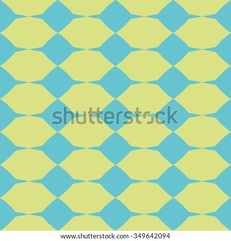Tile green and blue vector pattern or website background