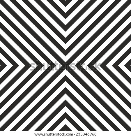 Tile vector black and white tile pattern or geometric background  - stock vector