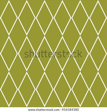 Tile vector pattern or green and white wallpaper background