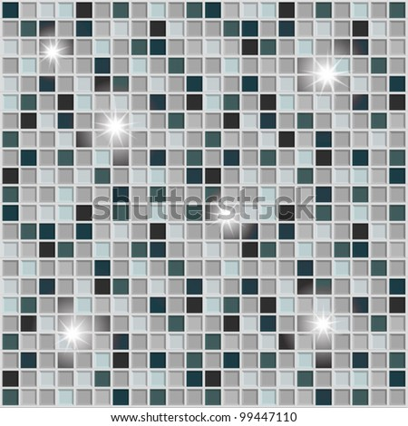 Tile wallpaper vector for different uses - stock vector