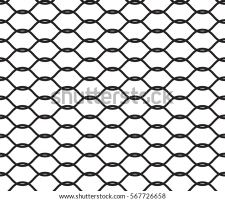Fishnet pattern vector