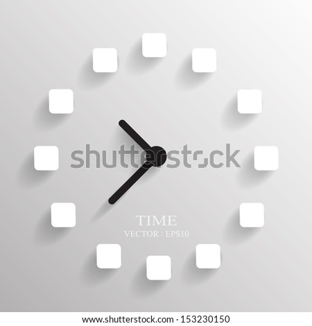 time  background ,Illustration eps 10 - stock vector