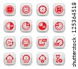 Time Icon Set for web and mobile. All elements are grouped. - stock photo