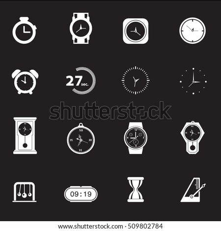 Time Icons - Chill Icons Vector files