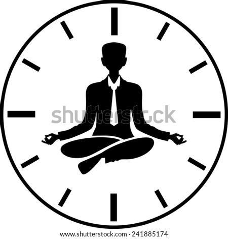 Time manager - stock vector