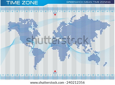 Time zone world map illustration internet stock vector 240212356 time zone and world map illustration for internet content brochure poster easy gumiabroncs Image collections