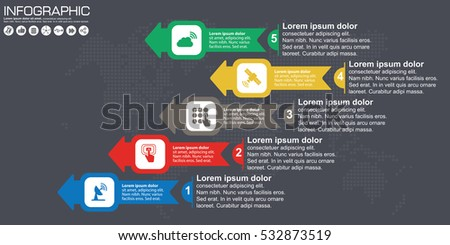 Timeline arrow vector infographic world map stock vector 532873519 timeline and arrow vector infographic world map background gumiabroncs Image collections