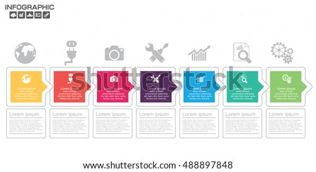 Timeline Stock Images RoyaltyFree Images Vectors Shutterstock - Timeline design template