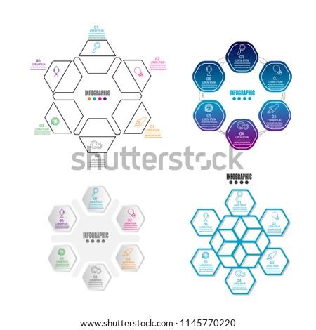 Timeline Infographic Template Element Workflowprocesspresentation ...