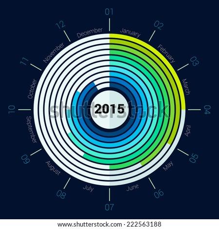 Timeline Infographic Vector Cv Resume Business Stock Vector ...