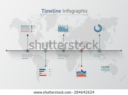 Timeline vector infographic world map vectores en stock 280487537 timeline vector infographic world map gumiabroncs Image collections