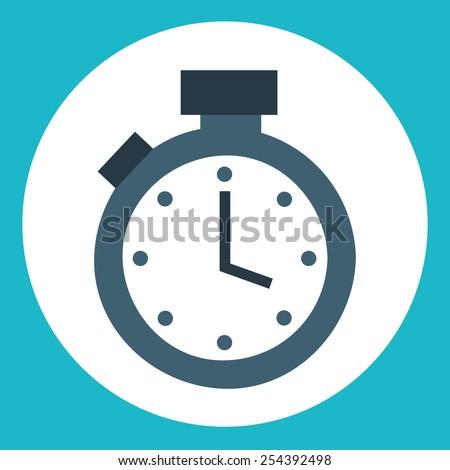 timer icon design, vector illustration eps10 graphic  - stock vector