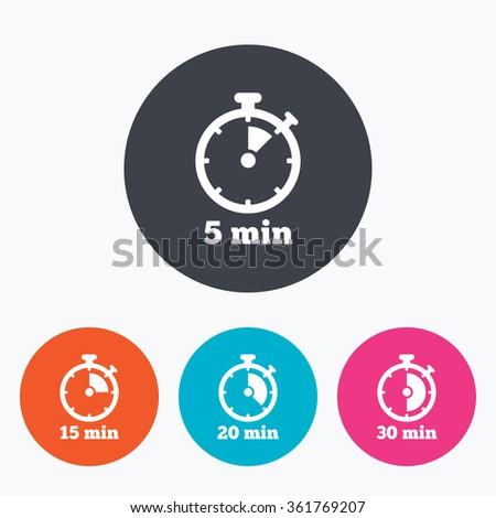5 mintue timer