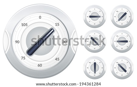 Timer Knob - Illustration